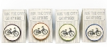 Ride the city Brooch