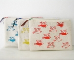 Zipper Pouch-Birds